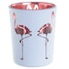 Flamingo Design Set of 2 Glass Candleholder - Image 2