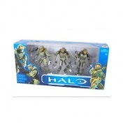 Halo Anniversary Edition Action Figure 3 Pack - Master Cheif Evolution