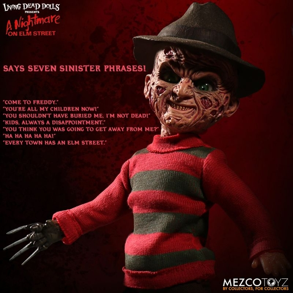 Freddy Krueger (Nightmare On Elm Street) Living Dead Dolls Figure