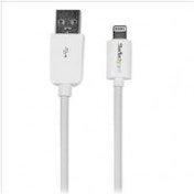 StarTech (15cm/6 inch) Short White Apple 8-pin Lightning Connector to USB Cable for iPhone / iPod / iPad