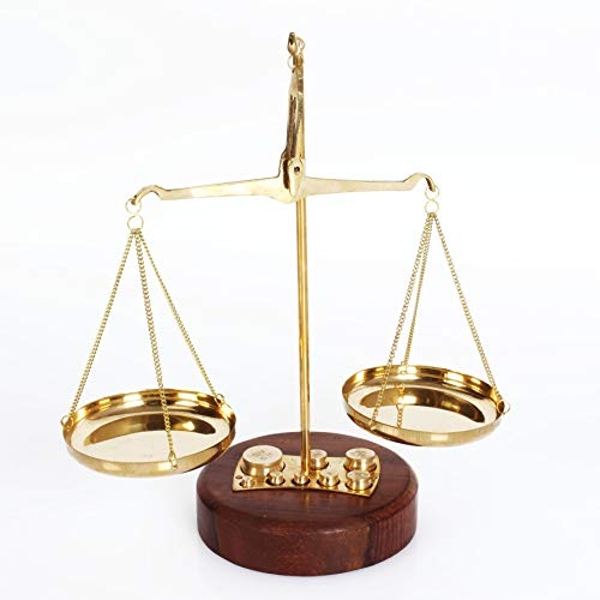 Emporium Collection - Brass Weighing Scales
