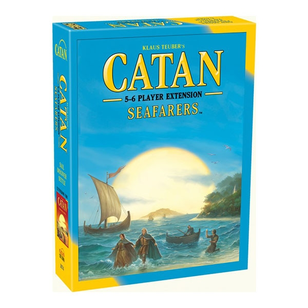 Catan Seafarers 5-6 Player Extension (2015 Edition) Board Game - Image 1