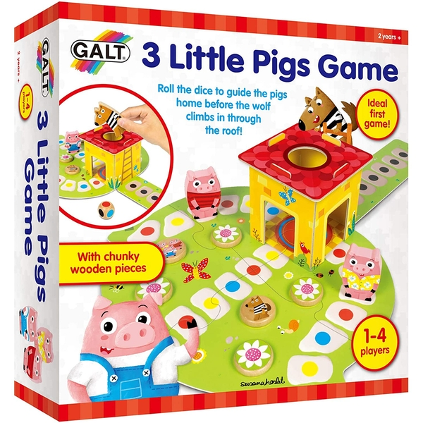 3 Little Pigs Play & Learn Game