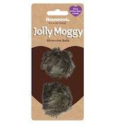 Rosewood Jolly Moggy Silvervine Balls 2 Pack