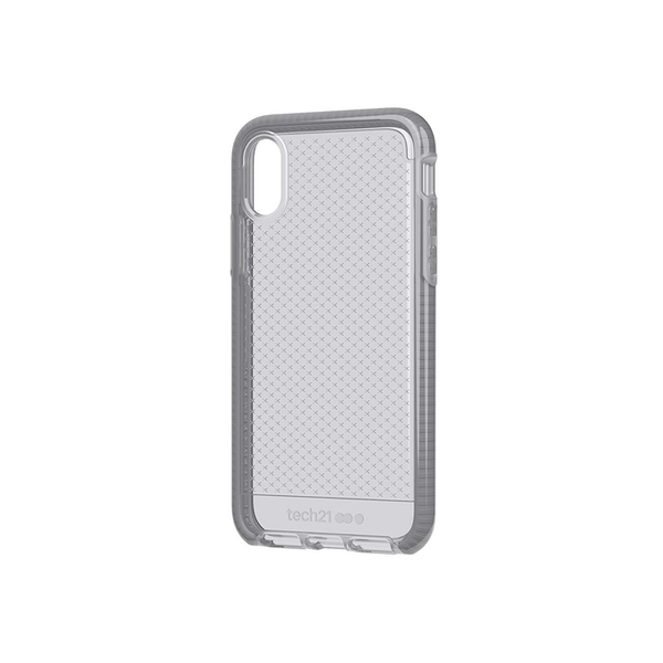 Tech 21 Evo Check Phone Case for iPhone X - Mid-Grey