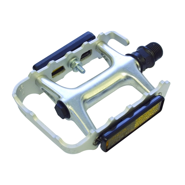 ETC Alloy Cromo Sealed MTB Pedals Silver 9/16