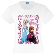 Disney Frozen Sisters Forever T-Shirt 7-8 Years