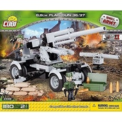 Cobi Small Army WWII German Flak 8.8cm Gun 180 Toy Building Bricks