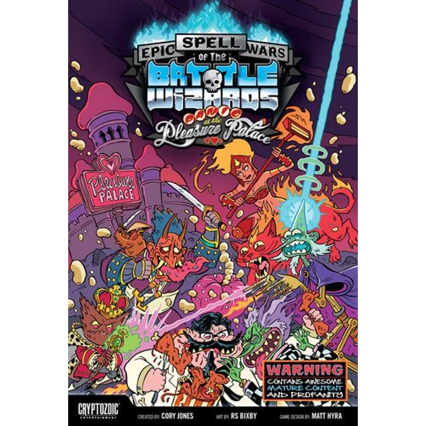 Epic Spell Wars of the Battle Wizards 4 III Panic at the ...