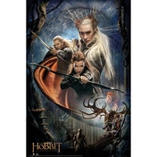 The Hobbit Desolation of Smaug Bows Maxi Poster