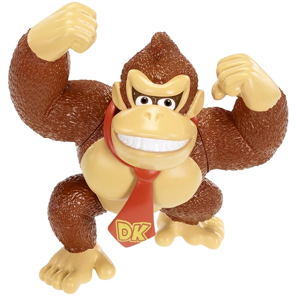 "Donkey Kong (Donkey Kong Country) World Of Nintendo 2.5"" Action Figure"