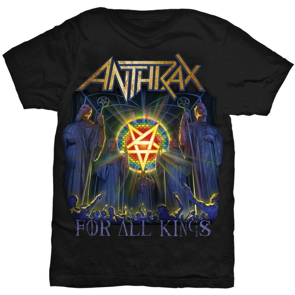 Anthrax - For All Kings Cover Unisex XX-Large T-Shirt - Black