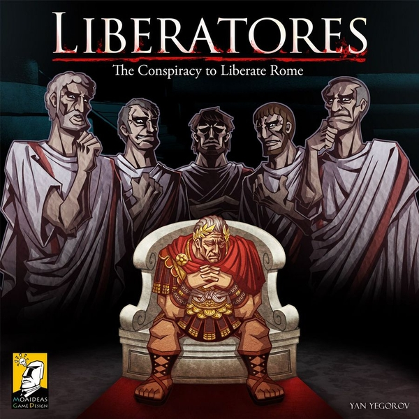 Liberatores: The Conspiracy to Liberate Rome Board Game