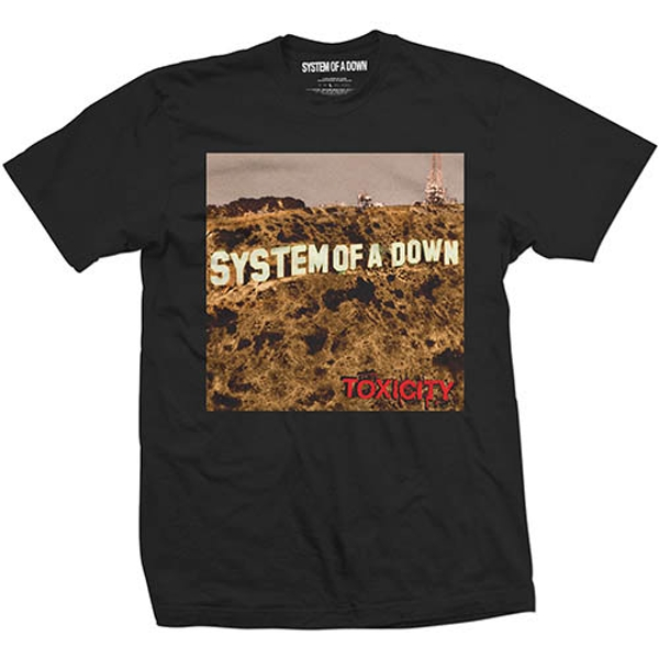 System Of A Down - Toxicity Unisex XX-Large T-Shirt - Black