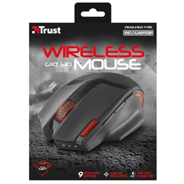113ac1cab48 Trust 20687 GXT 130 Wireless Gaming Mouse - ozgameshop.com