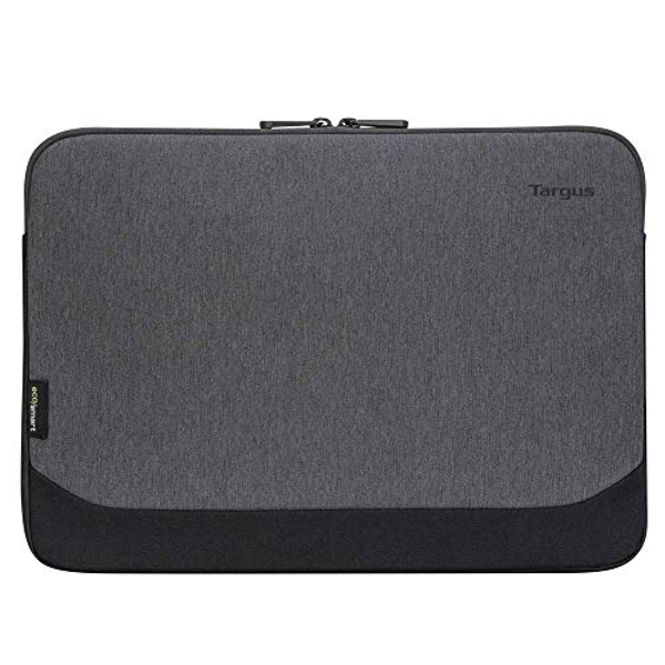 Targus Cypress Sleeve Computer Cover with EcoSmart Designed for Business Traveler and School fit up to 11-12-Inch Laptop/Notebook, Gray (TBS64902GL)