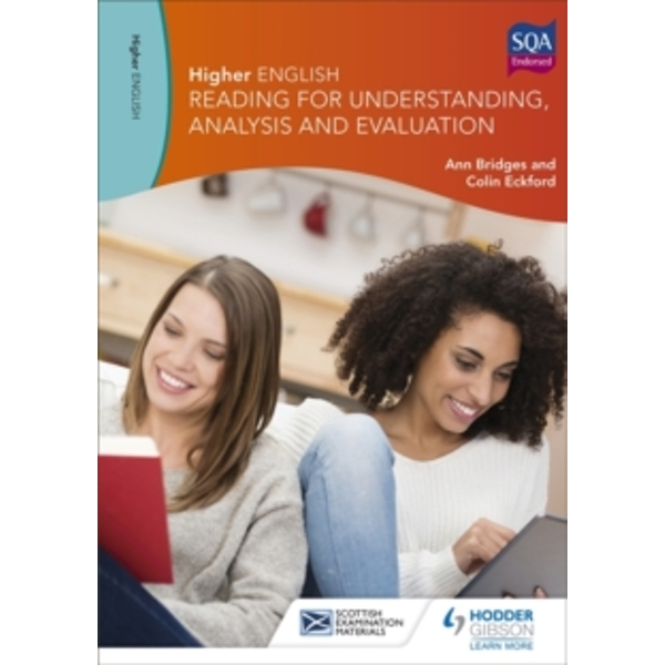 Higher English for CfE: Reading for Understanding, Analysis and Evaluation by Colin Eckford, Ann Bridges (Paperback, 2015)
