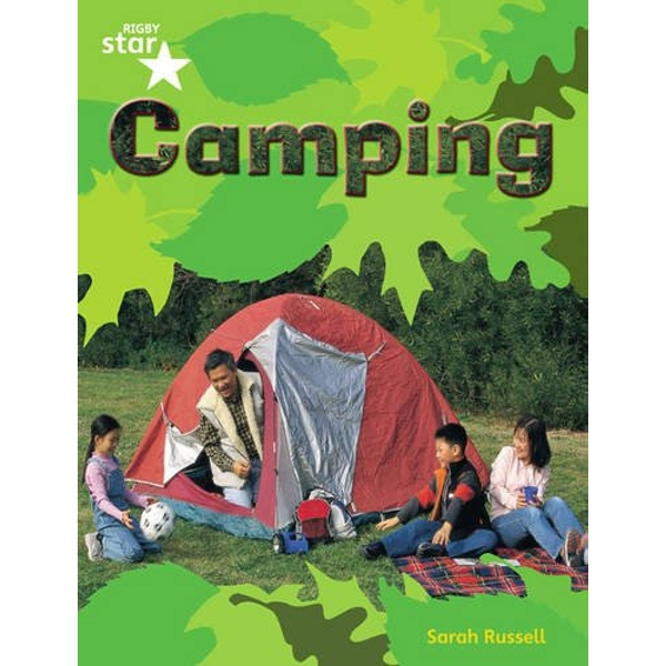 Rigby Star Guided Quest Green: Camping Pupil Book (Single) by Pearson Education Limited (Paperback, 2005)