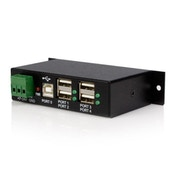 StarTech Mountable 4 Port Rugged Industrial USB Hub