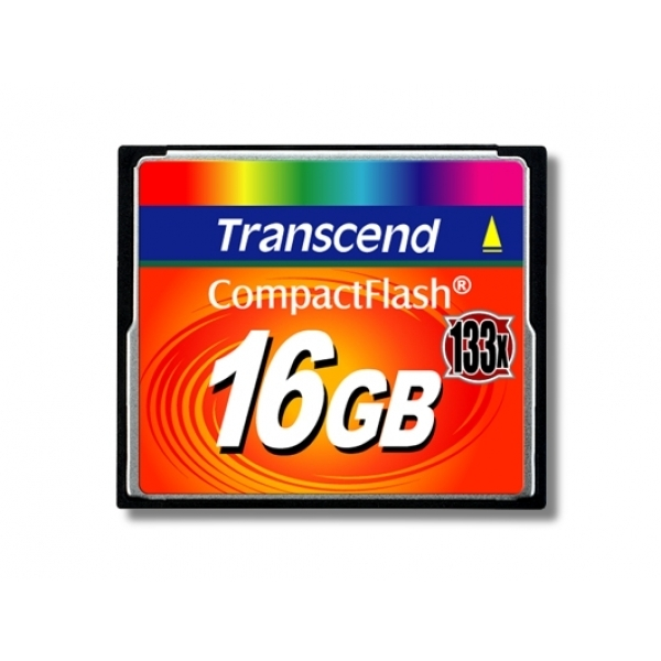 Transcend 16GB 133X Compactflash Card TS16GCF133