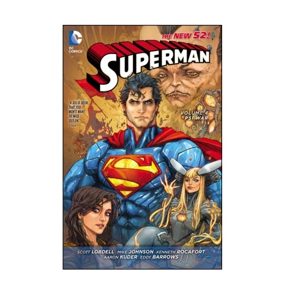 DC Comics Superman Volume 4 New 52 Paperback
