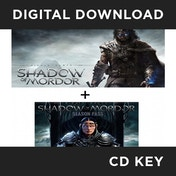 Middle-Earth Shadow of Mordor (with Season Pass) PC CD Key Download for Steam