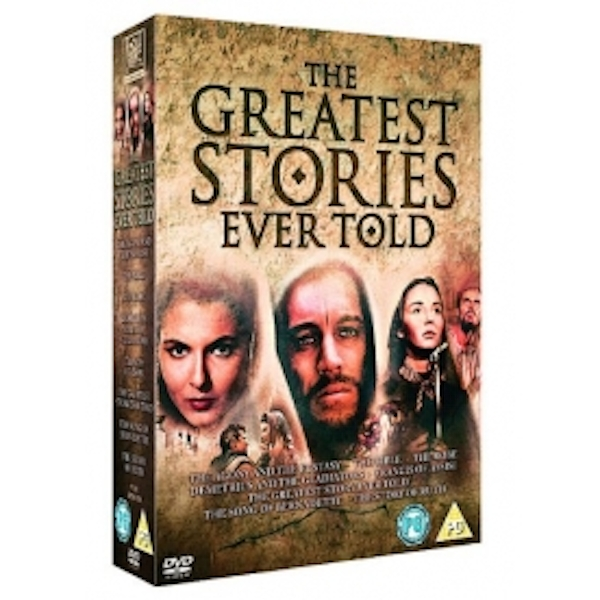 The Greatest Stories Ever Told: Religious Epics Box Set DVD