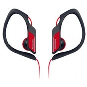 Water & Sweat Resistant Sports Earbud Headphones Red
