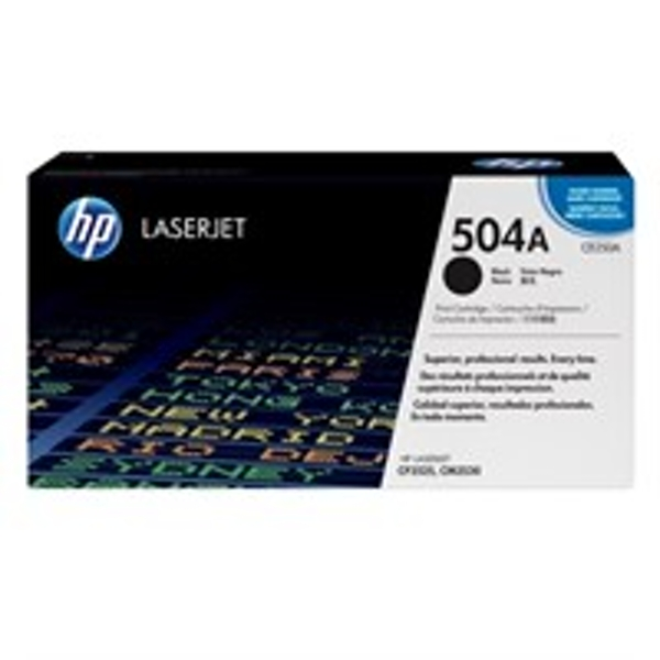 HP CE250A (504A) Toner black, 5K pages