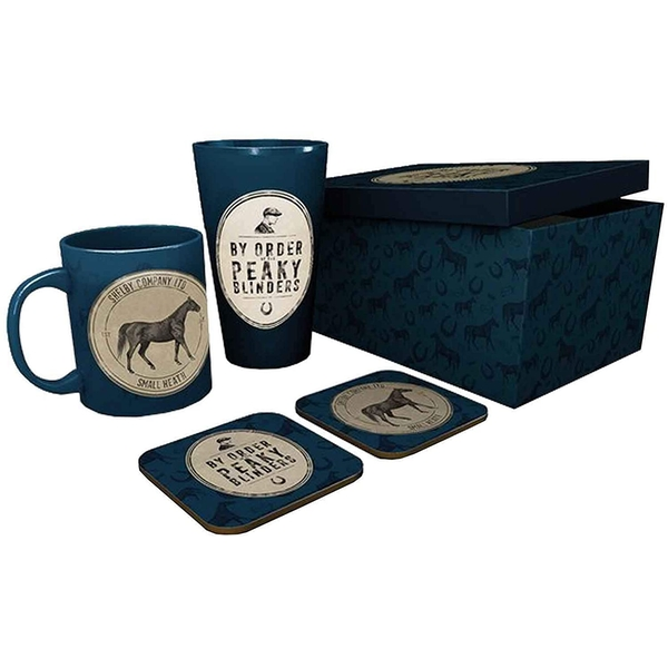 Peaky Blinders By Order Of  Mug Coaster and Pint Glass Official One Size
