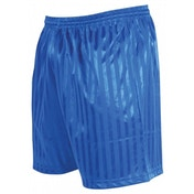 Precision Striped Continental Football Shorts 22-24 inch Royal Blue