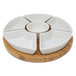 Bamboo & Ceramic Rotating Dip Set | M&W - Image 3