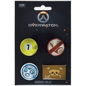 Overwatch Roadhog Pin Button Set Collection
