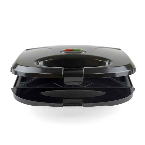 Lloytron E2603BK Kitchen Perfected 2 Slice Sandwich & Omelette Maker Black UK Plug - Image 1