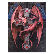 Small Gothic guardian Canvas Picture by Anne Stokes