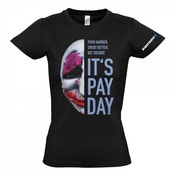 PAYDAY 2 Women's Houston Mask Extra Large T-Shirt, Black