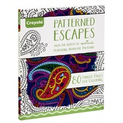 Crayola Patterned Escapes Adult Colouring Book