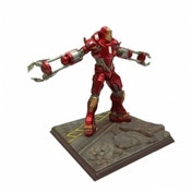Dragon Marvel 1:24 Iron Man Mk 35 Red Snapper Vignette
