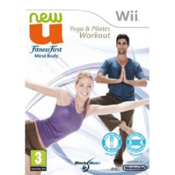 NewU Fitness First Yoga Pilates Workout Game Wii