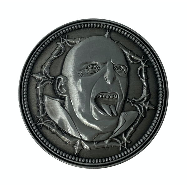 Harry Potter Limited Edition Coin - Voldemort - Image 1