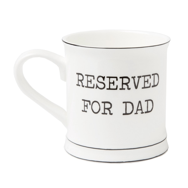 Sass & Belle Reserved For Dad Mug