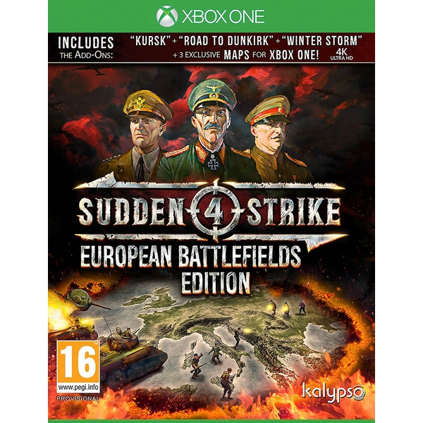 Sudden Strike 4 European Battlefields Xbox One Game - Image 1