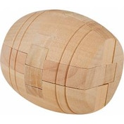 Chunky Wooden Barrel Puzzle