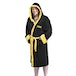 Rocky Italian Stallion Black Bathrobe - Image 3