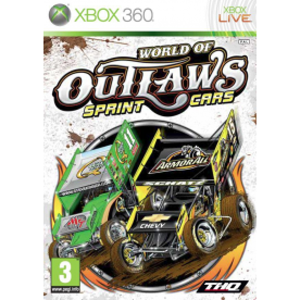 World Of Outlaws Sprint Cars Game Xbox 360
