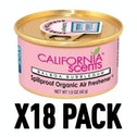 Balboa Bubblegum (Pack Of 18) California Scents Spillproof Organic Canister