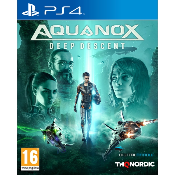 Aquanox Deep Descent PS4 Game - Image 1