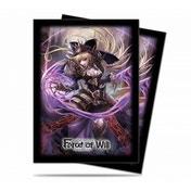Ultra Pro Force Of Will Dark Faria Deck Protector 65 Sleeves - Case of 10
