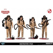 Ex-Display Ghostbusters Deluxe 4-Pack (Stranger Things) Action Figure Used - Like New