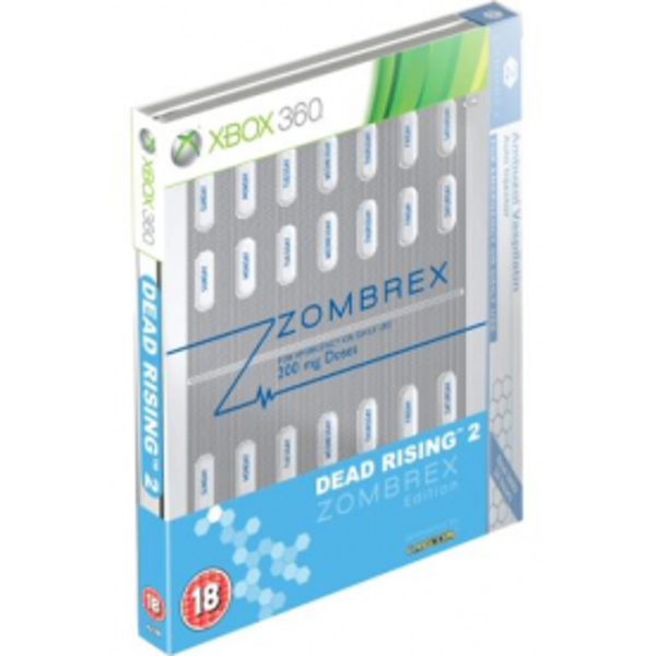 Dead Rising 2 Zombrex Steel Book Limited Edition Game Xbox 360
